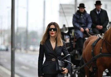 14 Leather-Pants Outfits That Are So Chic - Leather-Pants Outfits, leather pants, fall outfit ideas