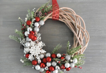 15 DIY Christmas Wreath Ideas (Part 2) - DIY Wreath Ideas, DIY Christmas Wreath Ideas, Diy Christmas, Christmas Wreath Ideas