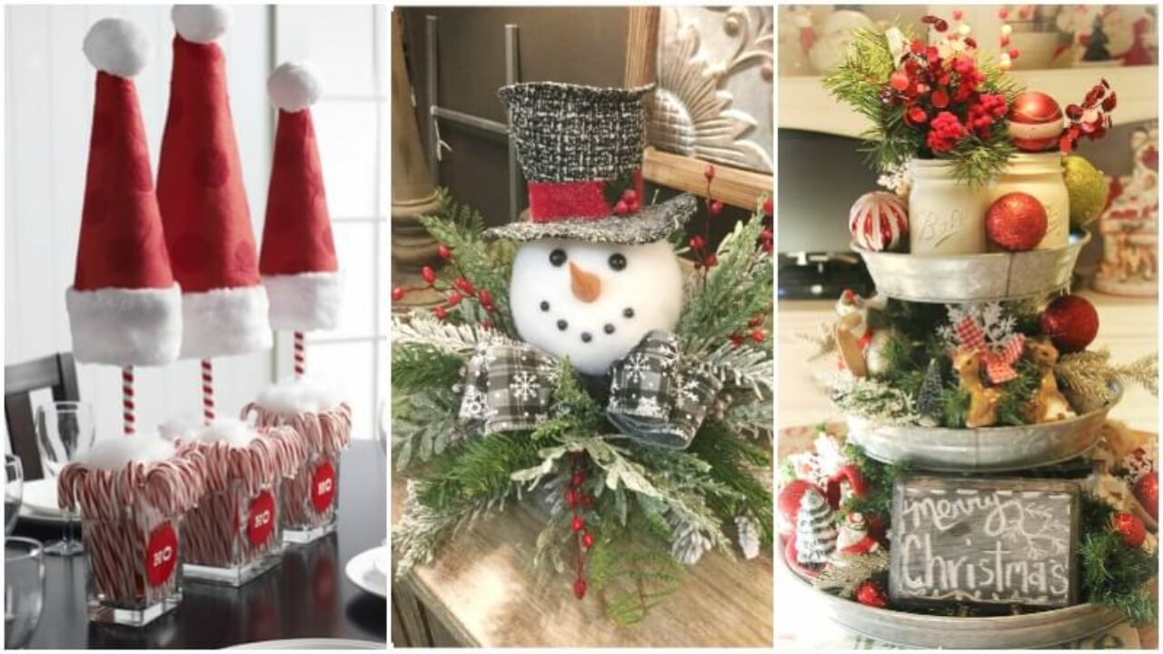 15 Best Diy Christmas Centerpieces Part 3