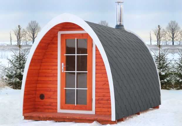 Winter is Coming! Introducing the Tiny House Igloo Up for Grabs!