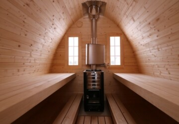 Winter is Coming! Introducing the Tiny House Igloo Up for Grabs! - tiny house, sauna, outdoors, igloo, Cabins