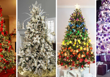 20 Stunning Christmas Tree Ideas 2019 (Part 2) - Christmas Tree Stand Decoration Ideas, Christmas Tree Ideas, Christmas Tree Decorating Ideas, Christmas tree