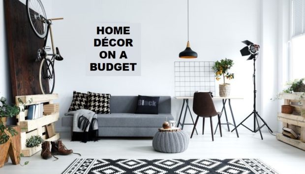 New Home Décor Ideas to Work with On a Budget - wallpaper, Repurpose, rearrange, home decor, furniture, budget, Accessories