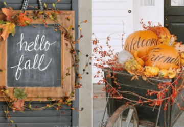 15 Cheap and Easy Fall Porch Decor Ideas (Part 2) - Fall Porch Decor Ideas, fall porch decor, DIY Fall Porch Decor Ideas