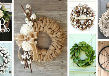 15 Great DIY Fall Farmhouse Wreaths - Fall Farmhouse Wreaths, DIY Fall Wreaths, DIY Fall Farmhouse Wreaths