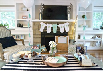 Hosting a Baby Shower at Your House (Without All the Stress) - home party, budget, baby shower, baby