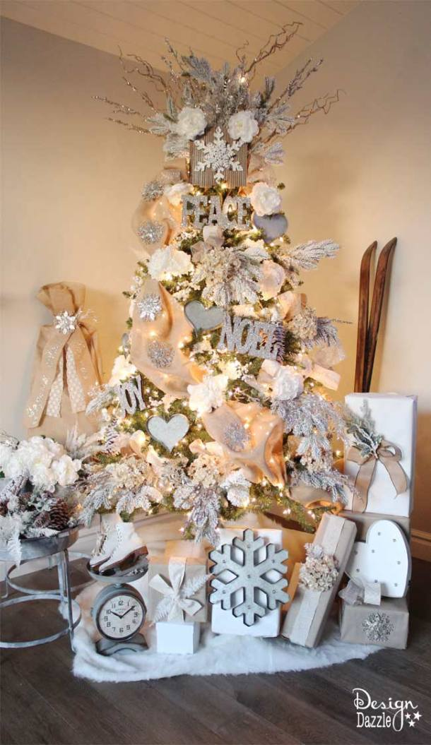 20 Stunning Christmas Tree Ideas 2019 (Part 1)