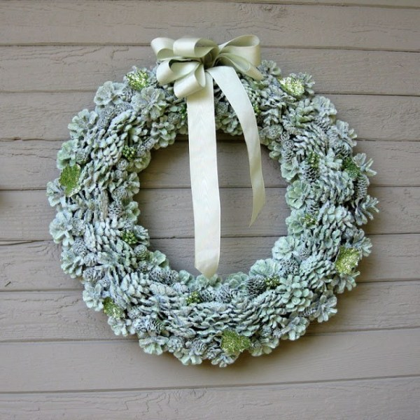 15 DIY Christmas Wreath Ideas (Part 1) - DIY Christmas Wreath Ideas, Diy Christmas Wreath, DIY Christma