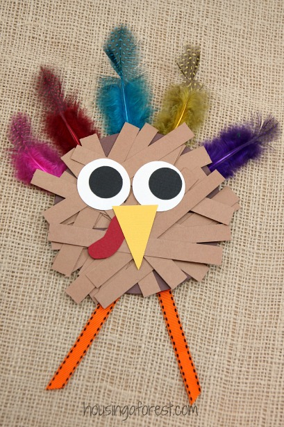 16 Easy DIY Thanksgiving Crafts for Kids - DIY Thanksgiving Decorating Ideas, DIY Thanksgiving Crafts for Kids, DIY Thanksgiving Crafts, DIY Thanksgiving