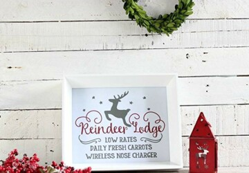 15 Cozy And Wonderful Farmhouse Christmas Decorating Ideas - Outdoor Farmhouse Christmas Decorations, Indoor Farmhouse Christmas Decorations, Farmhouse Christmas Decorations, Farmhouse Christmas Decorating Ideas