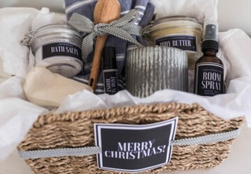 15 Creative DIY Gift Basket Ideas for Christmas - DIY Gift Basket Ideas for Christmas, DIY Gift Basket Ideas