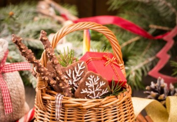 15 Creative DIY Gift Basket Ideas for Christmas (Part 2) - DIY Gift Christmas, DIY Gift Basket Ideas for Christmas, DIY Gift Basket Ideas, Diy Christmas