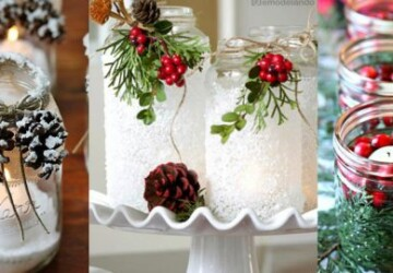 15 DIY Rustic Holiday Candles and Luminaries - DIY Rustic Luminaries, DIY Rustic Holiday Candles and Luminaries, DIY Rustic Holiday, DIY Halloween Lanterns And Luminaries, DIY Candles and Luminaries