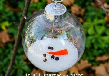 15 Easy DIY Christmas Ornaments - DIY Christmas Ornaments Kids Can Make, Diy Christmas ornaments