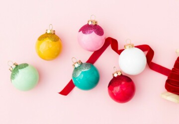 15 DIY Christmas Ornaments to Make This Year - DIY Christmas Ornaments Kids Can Make, DIY Christmas Ornament