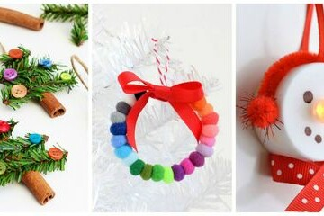 15 DIY Christmas Ornaments - Diy Christmas ornaments, Diy Christmas