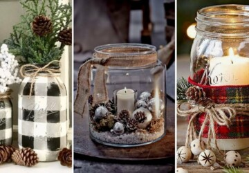 15 Mason Jar Christmas Craft Ideas - Mason Jar Craft Ideas, Mason Jar Christmas Craft Ideas, Mason Jar Christmas