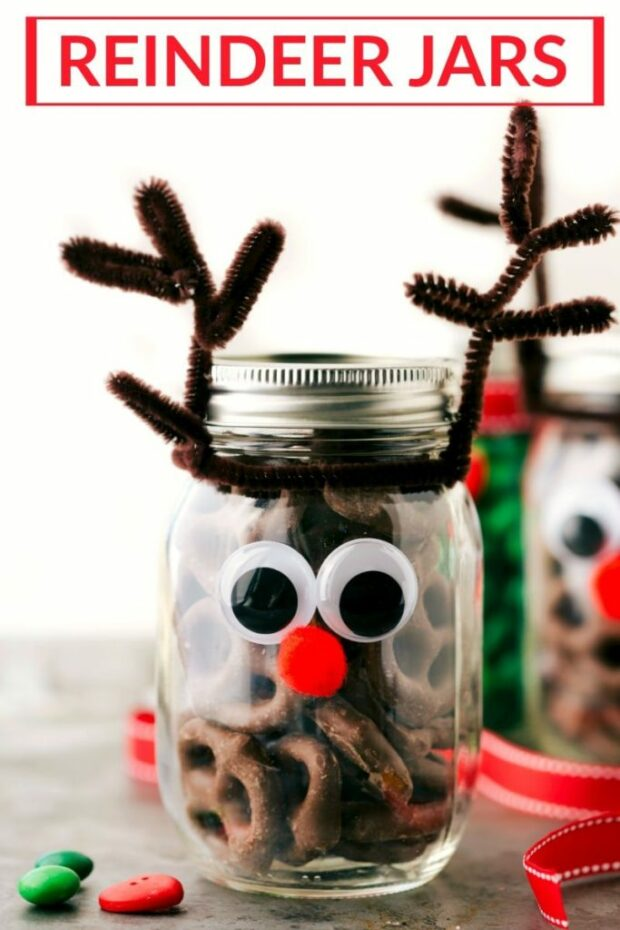 15 Magical Christmas Mason Jar DIY Projects - Mason Jar DIY Projects, Magical Christmas Mason Jar DIY Projects, Christmas Mason Jar