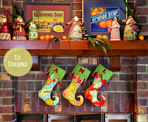 15 Easy Handmade Christmas Stockings (Part 2)
