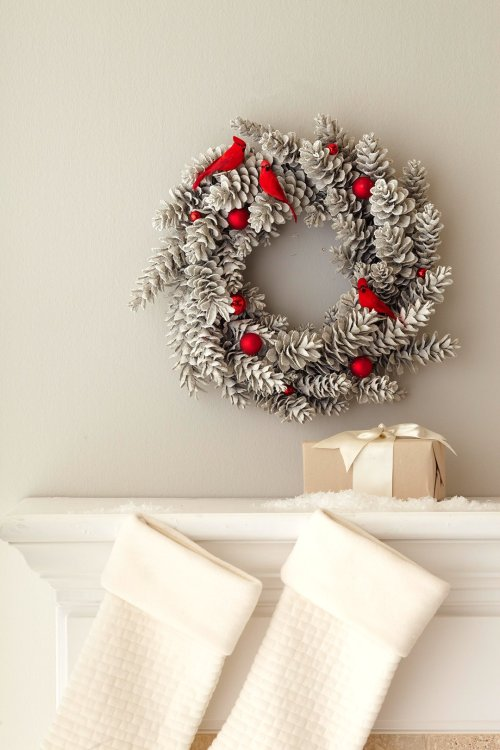 17 Cool DIY Rustic Christmas Wreath Ideas - DIY Rustic Christmas Wreath Ideas, DIY Rustic Christmas Wreath, DIY Rustic Christmas ideas, DIY Christmas Wreath Ideas