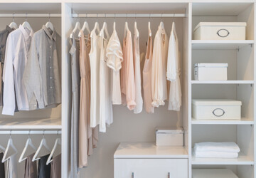 5 Principles of the Minimalist Wardrobe — and Why It Works - wardrobe, Minimalist Wardrobe, interior design, home design