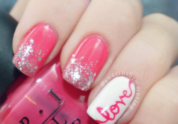 15 Nail Art Ideas for Valentine's Day (Part 2) - Nail Art Ideas for Valentine's Day, nail art ideas, Anti Valentine's Day Nail Art Ideas, Anti Valentine's Day Nail Art