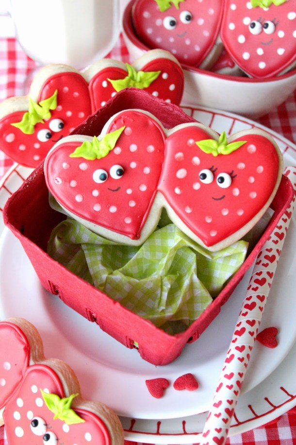 15 Valentine's Day Cookie Recipes (Part 2) - Valentine's day desserts, Valentine's day cookies, Valentine's Day Cookie Recipes