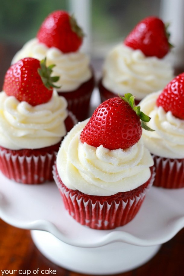 15 Cute Valentines Day Cupcakes (Part 1)