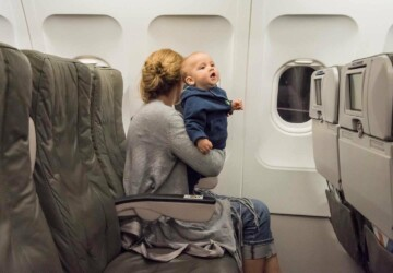 10 Must-Have Items for Vacationing with a Baby - travel stroller, travel crib, travel, sound machine, sleep sack, potty, floor mat, changing pad, carrier seat, car seat, bassinet, baby