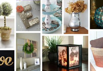 15 Best DIY Dollar Store Home Decor Ideas (Part 1) - DIY Home Decor Ideas, DIY Dollar Store Home Decor Ideas, DIY Dollar Store Home Decor