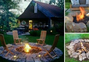 Inspiring DIY Outdoor Fire Pit Ideas (Part 1) - DIY Outdoor Fire Pit Ideas, DIY Outdoor Fire Pit