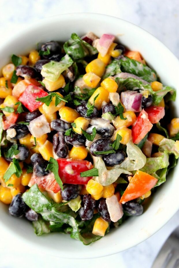 15 Vegetarian Main Dish Salad Recipes