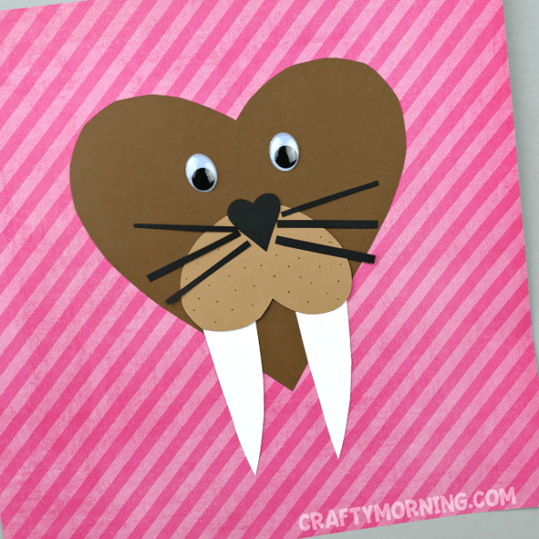 16 Adorable Valentine's Day Heart Crafts for Kids - Valentine's Day Heart Crafts for Kids, Valentine's Day Crafts for Kids, DIY Valentine's Day Crafts for Kids, DIY Valentine's Day Crafts