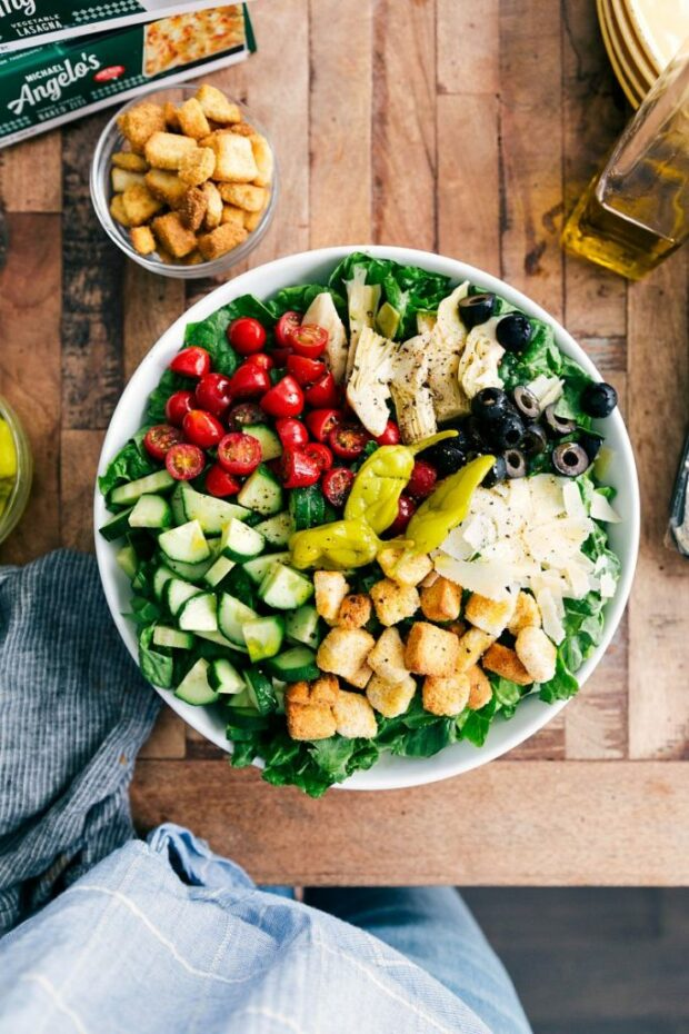 15 Healthy Vegetarian Salad Recipes - Vegetarian Salad Recipes, Vegetarian Salad, vegetarian, Low Carb Vegetarian Meals, Healthy Vegetarian Salad Recipes