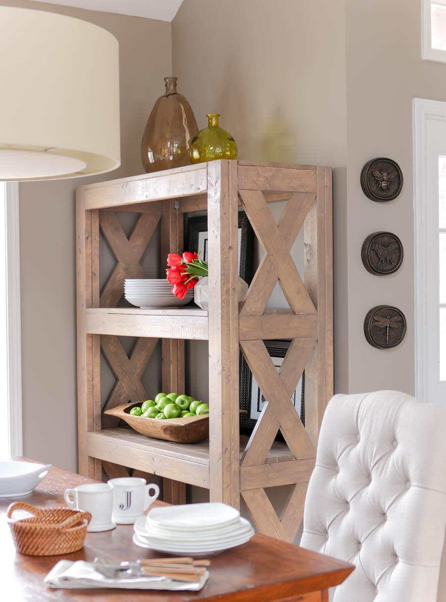 Rustic Modern Simpson Strong-Tie Shelf