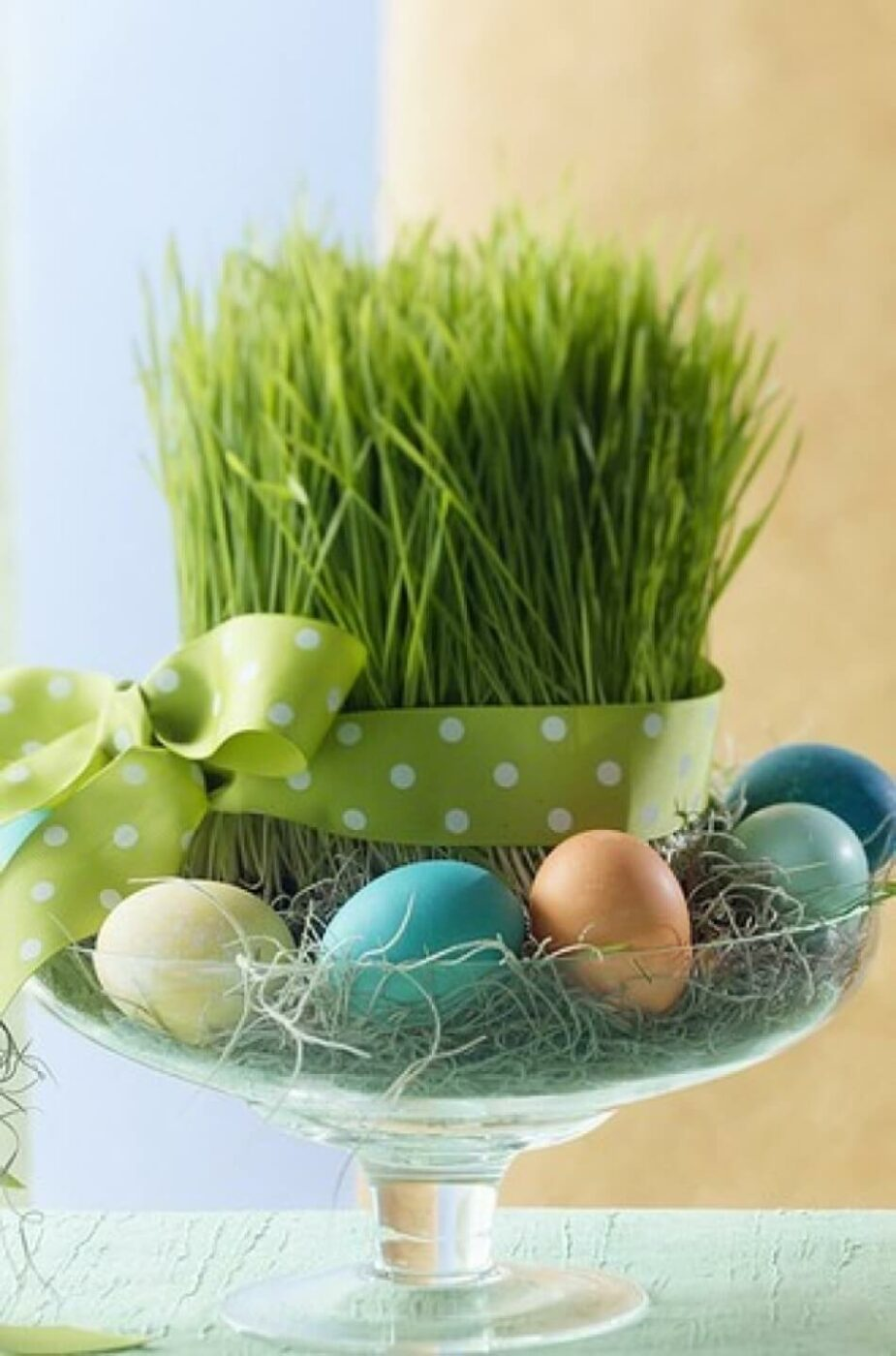 """The Grass Is Always Greener"" Easter Egg Dish"