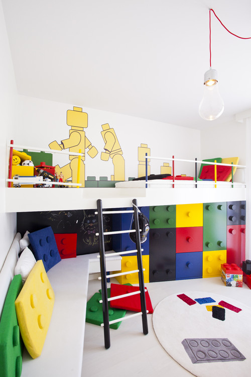 A Kids Paradise Inspired By The Classic Blocks