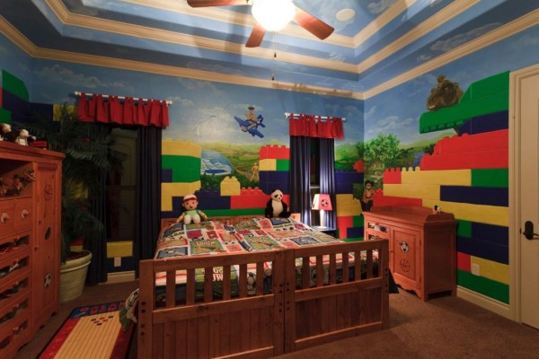 A Hand-Painted Mural Can Completely Transform A Small Space