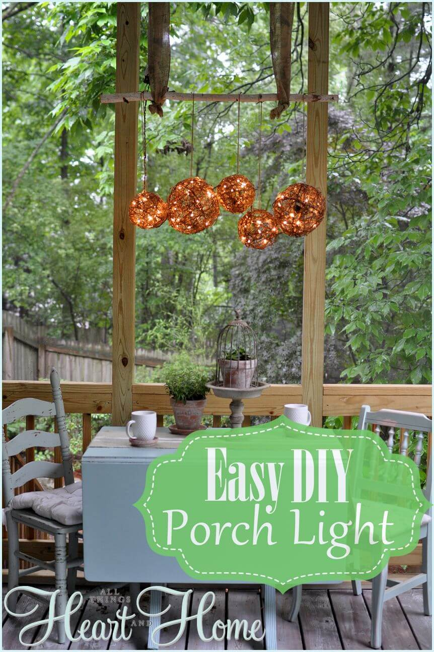 16 Stunning DIY Outdoor Lighting Ideas