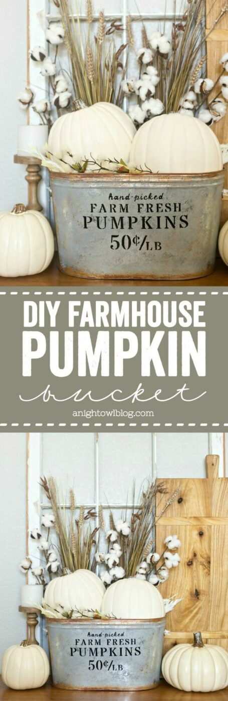 Fall Pumpkins to Match Any Color Scheme