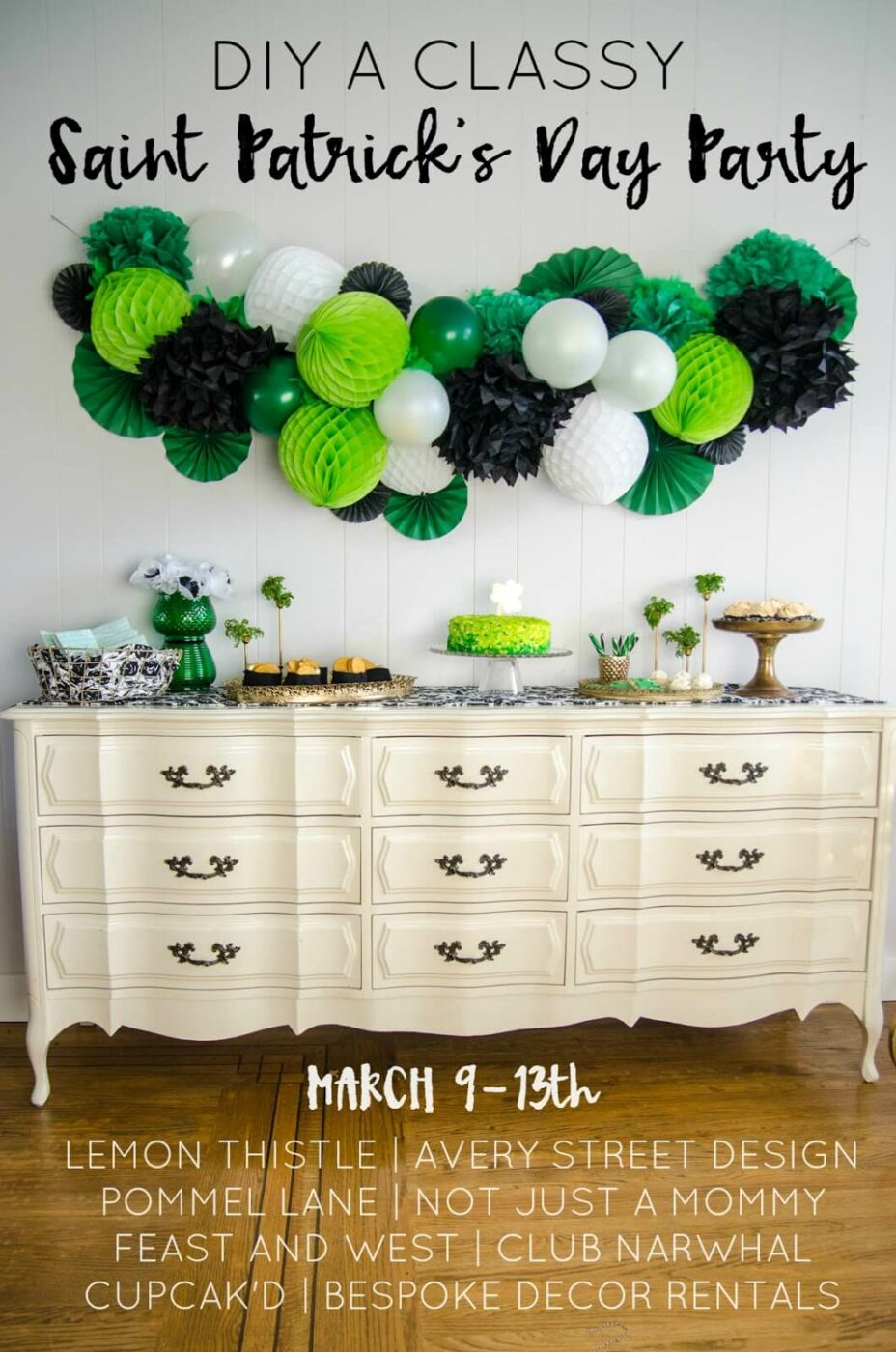 St. Patrick's Day Party Decor for Adults