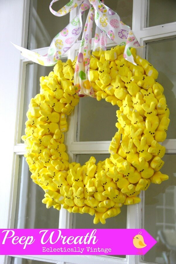 DIY Easter Decorations: 17 Ideas How to Make a Cute Easter Door Wreath