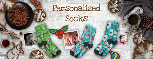 Personalized Socks - How To Stay Warm And Fun On Winter Evenings - winter, socks, personalized socks, gift