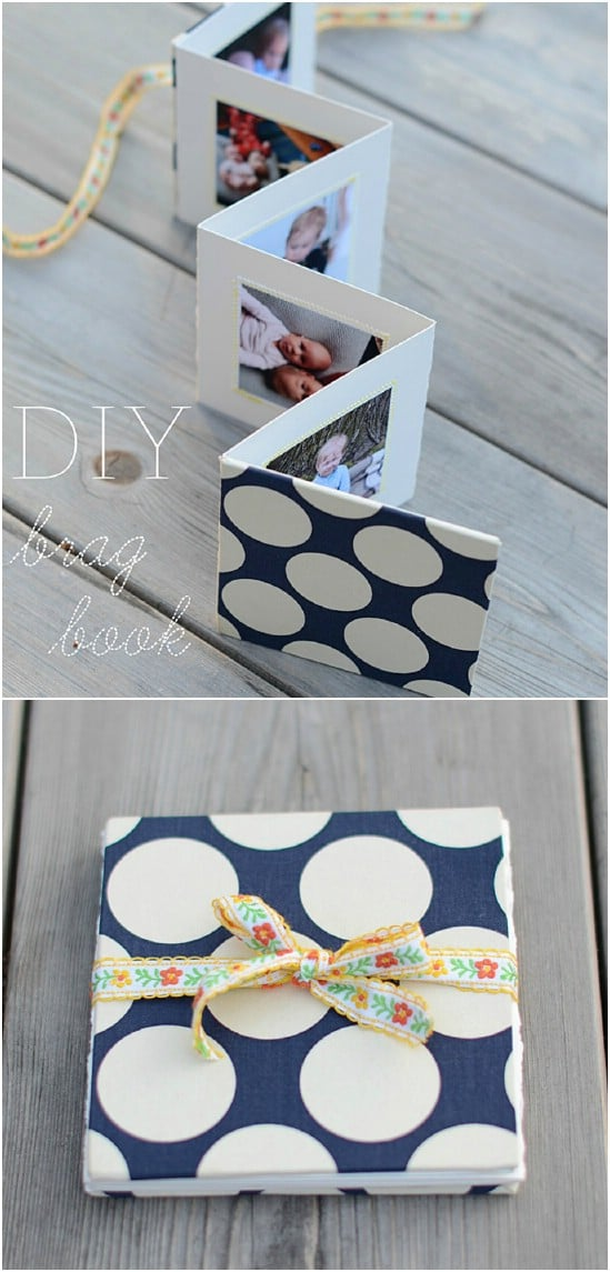 DIY Photo Book Mother's Day Card