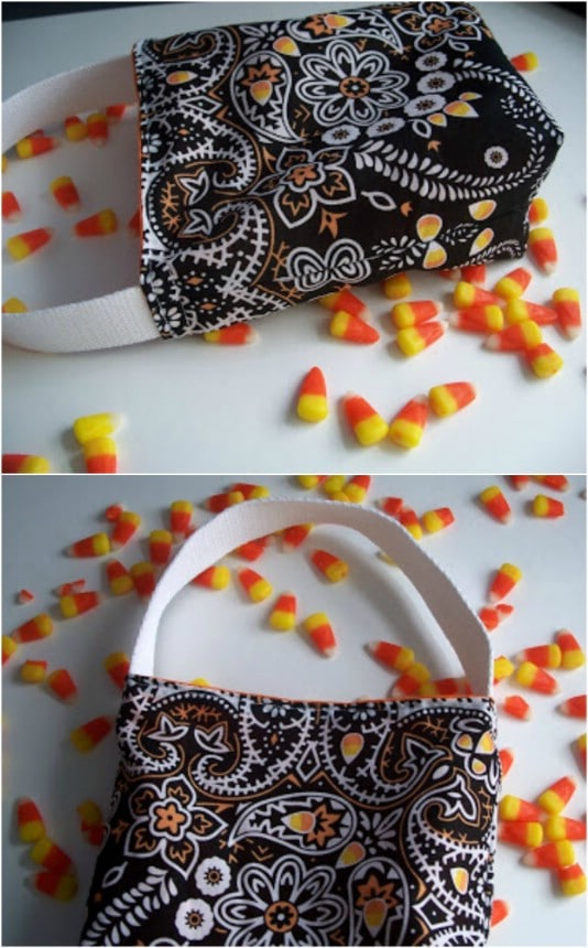 Upcycled Bandana Trick-Or-Treat Tote