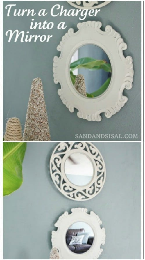 Repurposed Charger Mirror