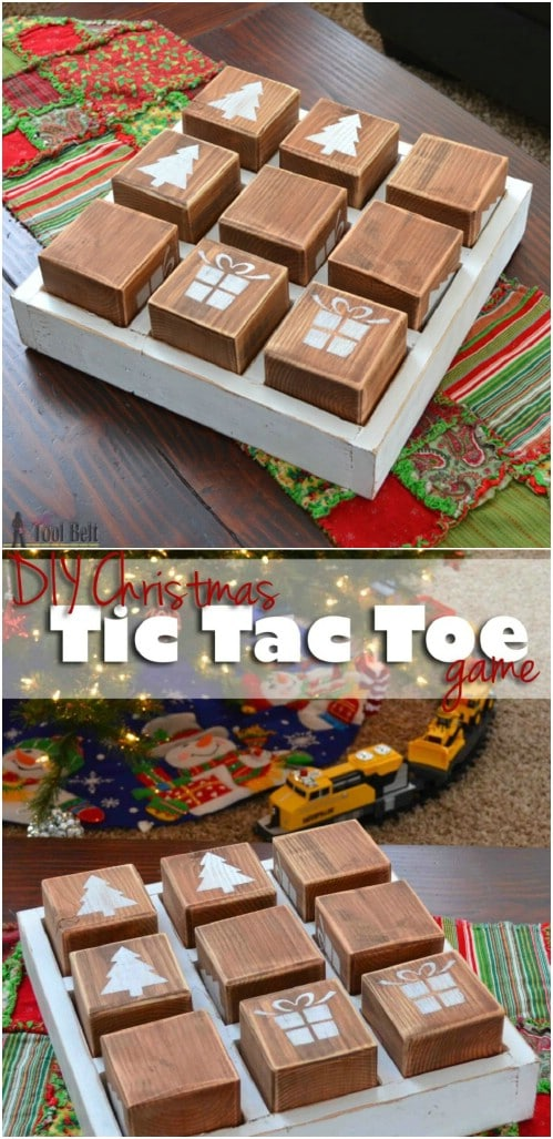 DIY Oversized Tic-Tac-Toe