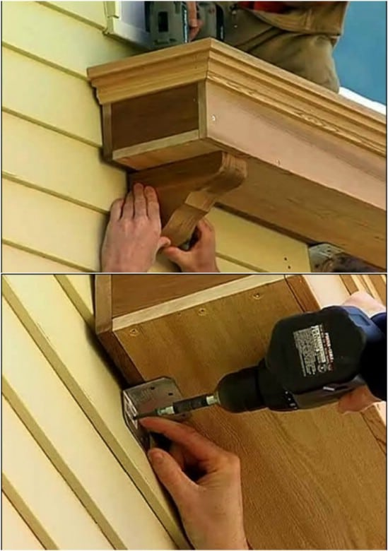 Traditional Wooden DIY Window Box
