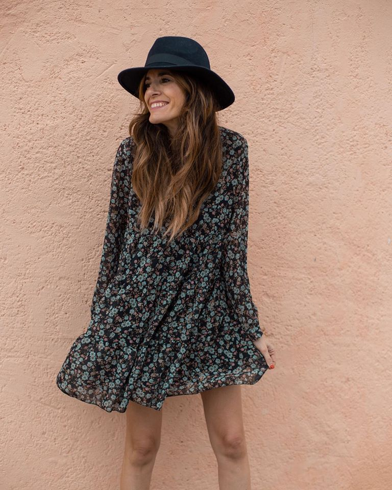 Lovely Floral Dresses and Skirts for Early Spring Days