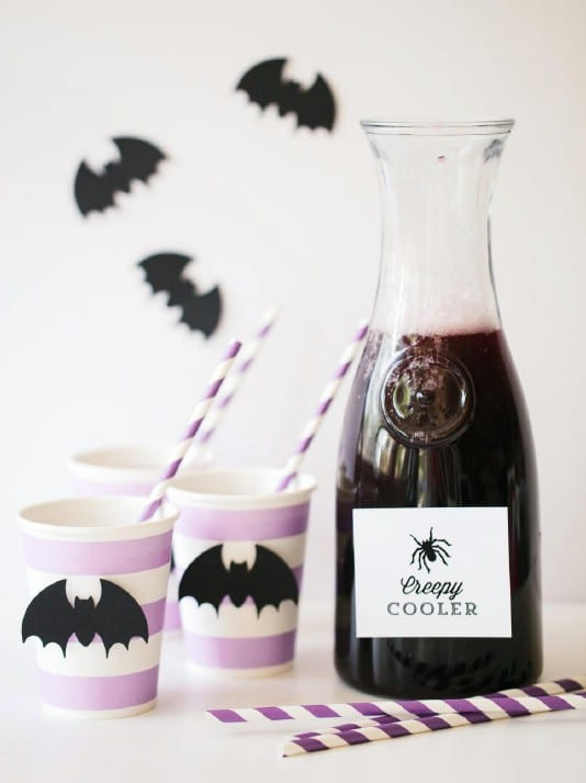 Cherry Chiller With Blood Drip Glasses